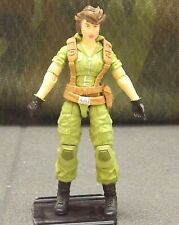 GI Joe 25th/50th anniversary Lady Jaye with CUSTOM head action figure