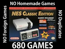 MODDED Nes Classic Edition 680 Games Nintendo Hacked 100% Positive! SHIPS TODAY!