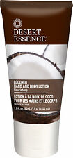 Coconut Hand and Body Lotion, Desert Essence, 1.5 oz 1 pack