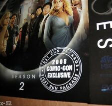HEROES tv series SDCC COMIC CON exclusive paper CASE (no dvd)