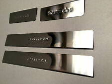 4 Seuils De Porte Chrome-inox RENAULT CLIO 4 IV /stainless steel door sill