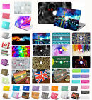 """Crystal Hard Case + Keyboard Cover For Apple MacBook Air 11"""" 13"""" Pro 13 12 15.4"""