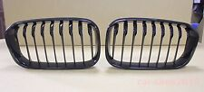 Front Kidney Grille Glossy Black For BMW F20 LCI 118i 120i 2015-2016