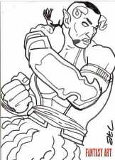 Fantasy Art Sketch Card by Adam Cleveland /2 - Unstoppable Loaded Pack Release