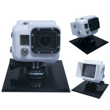 GoPro HD HERO 3 Black Silver White Silicon Case Cover Protector for LCD BacPac