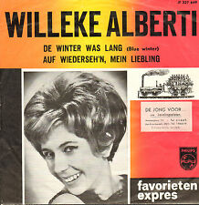 "WILLEKE ALBERTI - De Winter Was Lang  (1965 FAVORIETEN EXPRES SINGLE 7"")"