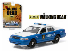 GREENLIGHT 1/64 THE WALKING DEAD 2001 CROWN VICTORIA RICK SHANE'S VEHICLE 44730F