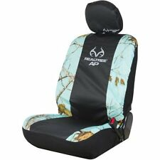Realtree Low-Back Bucket Seat Cover featuring APC Mint Camouflage