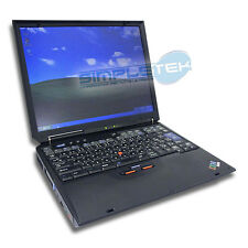 COMPUTER PORTATILE IBM THINKPAD R40E + ACCESSORI, WIFI, RAM 512MB, HD 80GB