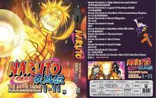 Naruto The Movie Series Collection 1-11 DVD ( English Dubbed)