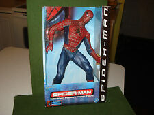 "AMAZING SPIDER-MAN 12"" ACTION FIGURE, TOY BIZ, 2001, MIP, MOVIE TIE IN"