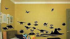 Dinosaur wall sticker 20 piece set Art Decal Decor Design