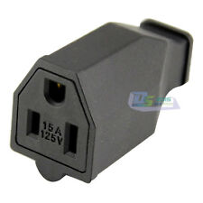 US Nema 5-15R Receptacle 15A 125V Female Power Cable Connector Adapter Plug NEW