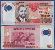 MOSAMBIK / MOZAMBIQUE 100 Meticais 2011 UNC P. 151