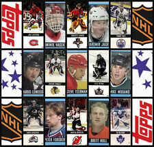 2003-04 Topps NHL Hockey Stickers Complete Set of 218