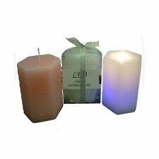 LED Candle Color Pattern Mood Decor Candle Flame Movement Effect Wedding