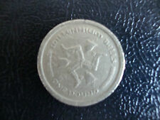 ISLE OF MAN (MILLENNIUM BELLS) £1 COIN DATED 2000