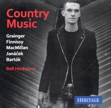 CD ROLF HIND COUNTRY MUSIC for PIANO GRAINGER FINNISSY MACMILLAN JANACEK BARTOK