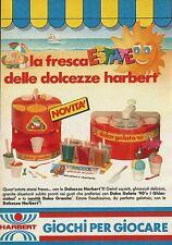 X2626 HARBERT - Dolce granita - Dolce Gelato - Pubblicità 1990 - Advertising