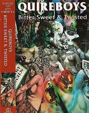 QUIREBOYS BITTER SWEET & TWISTED CASSETTE ALBUM HARD ROCK PARLOPHONE TCPCSD 120