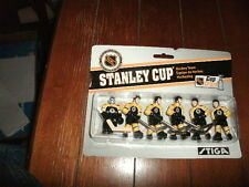 Stiga Boston Bruins Table Rod Hockey Players brand new in un opened case
