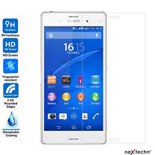 NextechnⓇ 2-Pack Tempered Glass Screen Protector for SONY XPERIA  Z3