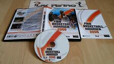 PC FIBA BASKETBALL MANAGER 2008 COMPLETO PAL ESPAÑA