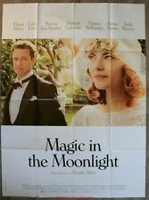 MAGIC IN THE MOONLIGHT Affiche Cinéma / Movie Poster WOODY ALLEN
