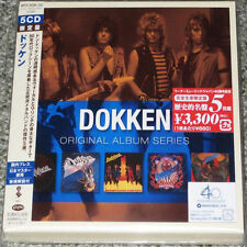 DOKKEN - Original Album Series - JAPAN EDITION 5 CD BOX SET - VERY RARE