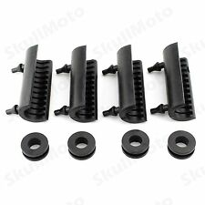 8 pcs Rubber Grommets Support Cushion Hard Saddlebag For Harley 2014-up Touring