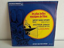 JOHNNY MATHIS Bo films West side story / docteur Jivago Disque OUB SSP12057