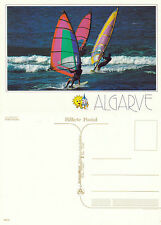 1990's WINDSURFING IN THE ALGARVE PORTUGAL UNUSED COLOUR POSTCARD