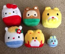 NEW SANRIO HELLO KITTY SQUARE CUBE CHARACTER PLUSH MASCOT SET OF 6