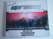 UPRISING - 29.06.02 - TOPGROOVE & AMETHYST CD-