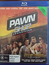 Pawn Shop Chronicles (Blu-ray, 2014) Brendan Fraser, Elijah Wood - Free Post!