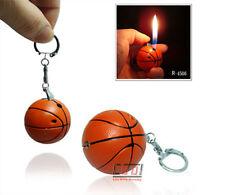 Novelty Handy Butane Refillable Cigarette Lighter Keyring Basketball/Football