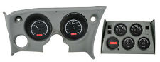 Dakota Digital 68 - 77 Chevy Corvette Analog Dash Gauges Black Red VHX-68C-VET