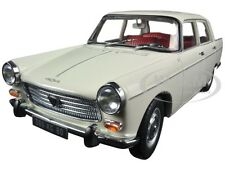 1965 PEUGEOT 404 DJIBOUTI IVORY 1/18 DIECAST MODEL CAR BY NOREV 184870
