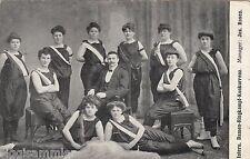 Damen-Ringkampf AK um 1910 Internationale Konkurrenz Sport 1607352