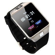 Smartwatch Bluetooth Smart Reloj Pulsera Móvil para Iphone Android Cámara Sim