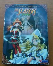 The Slayers TRY - The Complete Third Season (DVD, 2008, 4-Disc Set, Uncut) mint