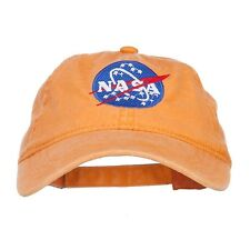 NASA Insignia Embroidered Pigment Dyed Cap