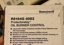 Honeywell R8184G 4082 Oil Burner Primary Control