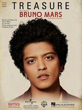 Treasure Sheet Music Piano Vocal Bruno Mars NEW 000121892