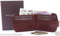 MEN'S QUALITY LUXURY SOFT BROWN REAL LEATHER WALLET, PURSE, CREDIT CARD HOLDER