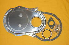 BBC Chevy Polished Aluminum Timing Cover Kit 396 427