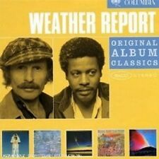 "WEATHER REPORT ""ORIGINAL ALBUM CLASSICS"" 5 CD BOX NEU"