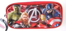 Marvel Avengers Age Of Ultron Dual Compartment Pencil Case Hulk Thor Iron Man