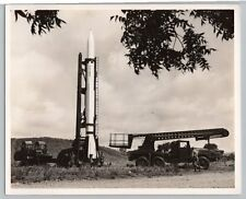 1950's Original MGM-5 CORPORAL MISSILE Vintage OFFICIAL US ARMY 8x10 Photo