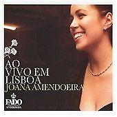 Ao Vivo Em Lisboa - Joana Amendoeira (2012, CD VGC)  C8